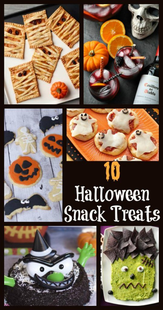 10 Halloween Snack Treats And Halloween Party ideas Spooky food - spooky food ideas for halloween