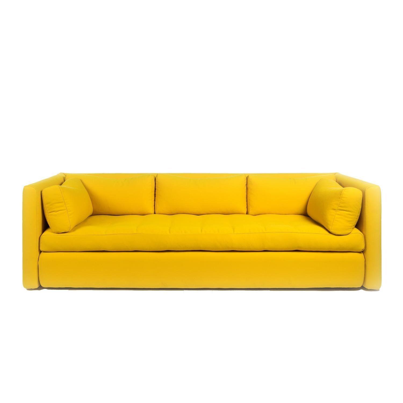 hay hackney 3 sitzer sofa gelb steelcut 445 254x96x75cm amazon de rh pinterest de