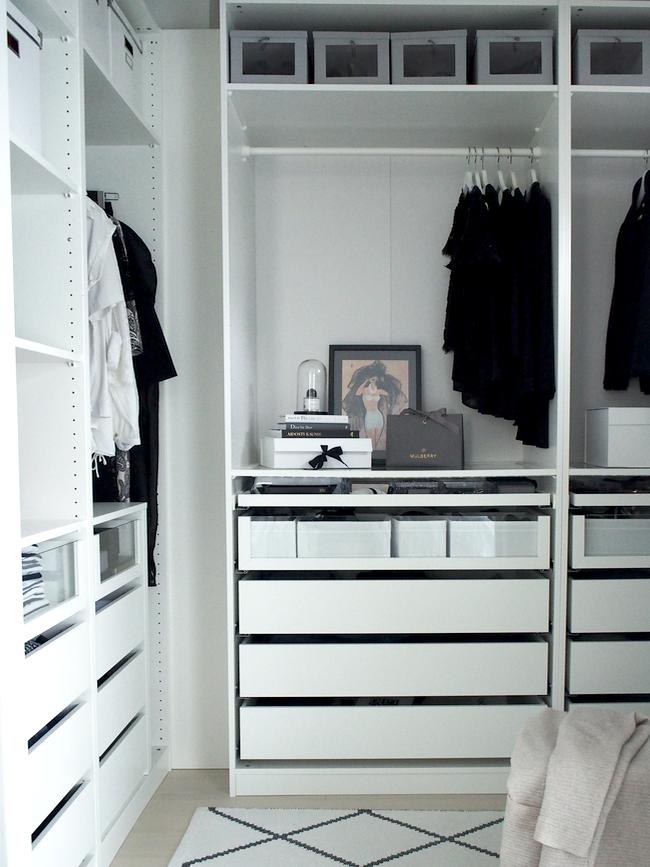 walk in closet tyylik s ja toimiva vaatteiden ja asusteiden rh pinterest com