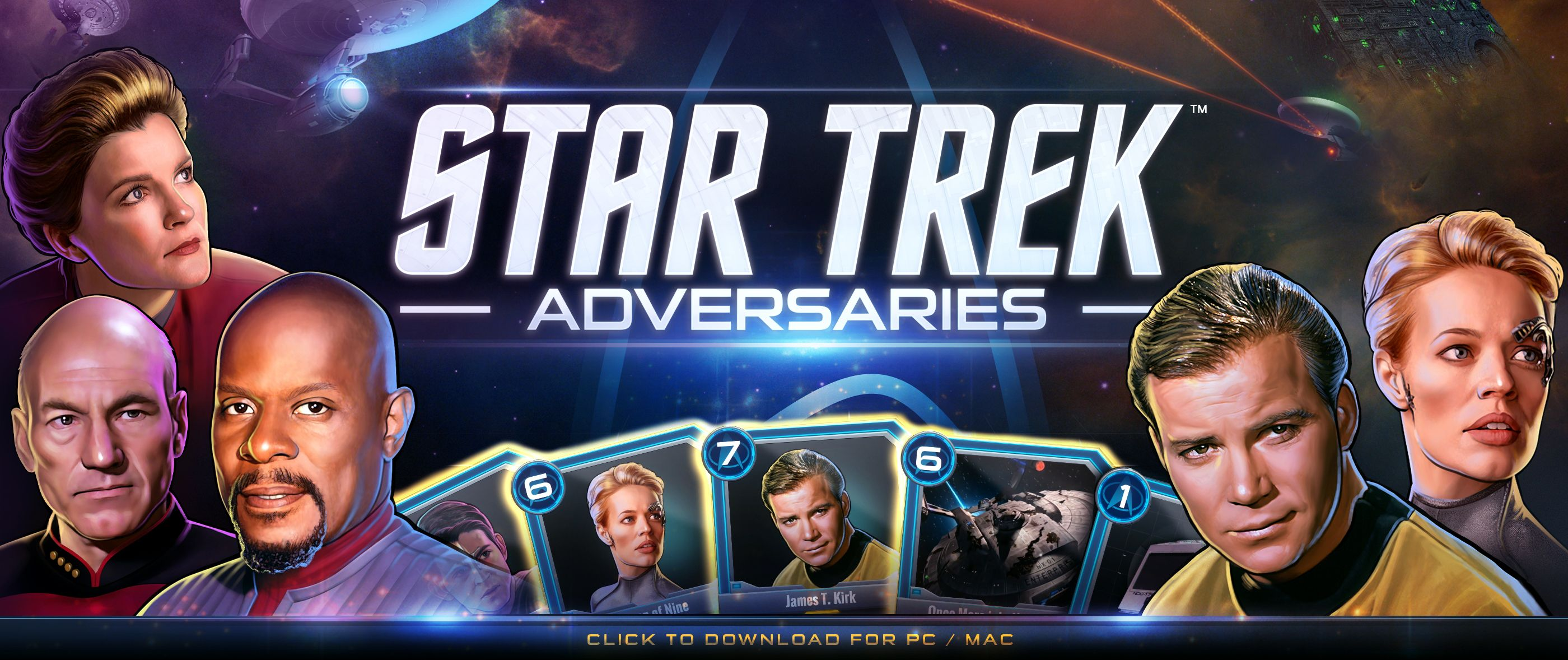 In Star Trek Adversaries Video Card Game Its the Captains
