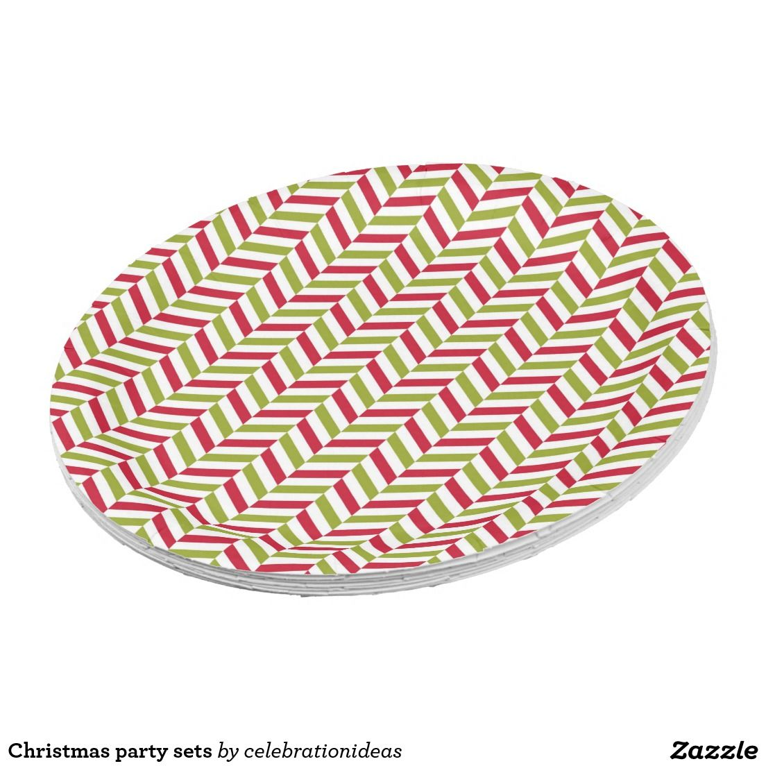 Shop Christmas party sets paper plate created by celebrationideas.  sc 1 st  Pinterest & Christmas party sets | Custom Party PAPER PLATES | Pinterest ...