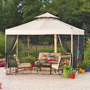Saving Up For This For My Home Patio Patio Swing Canopy Gazebo Replacement Canopy