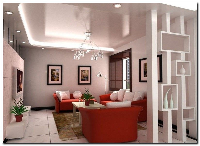 10+ Stunning Partition Wall In Living Room