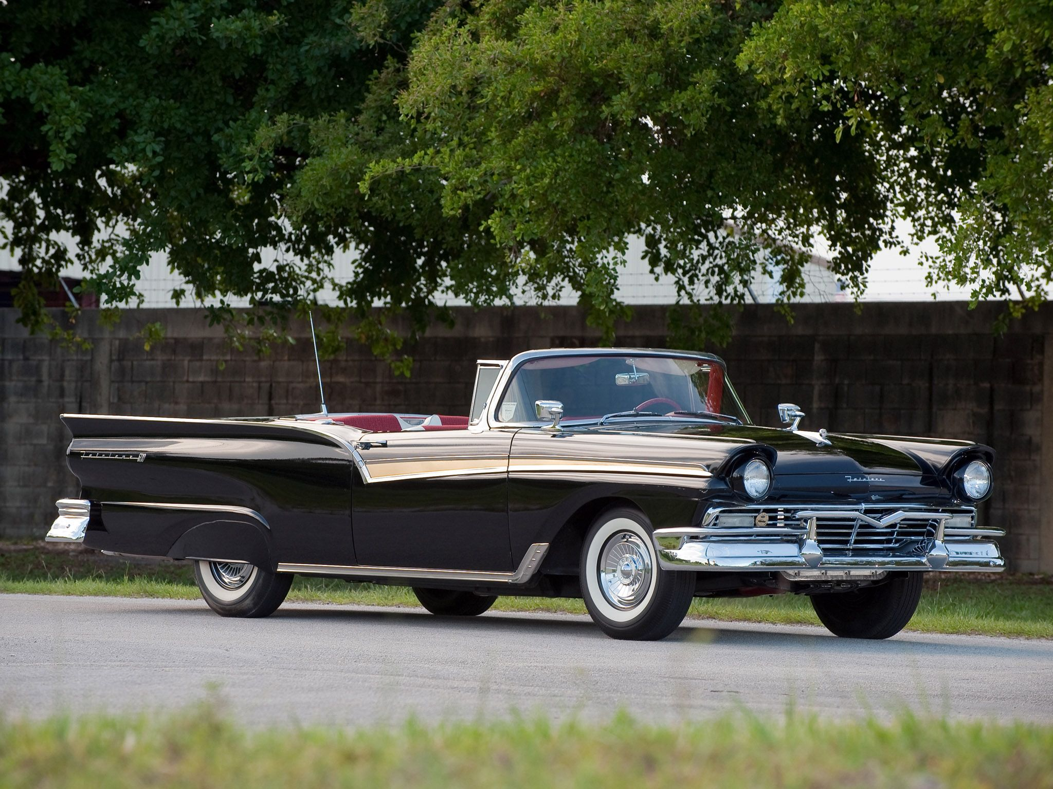 1956 ford fairlane victoria 2 dr ht slight mod white over salmon color pony up 2 pinterest ford fairlane ford and cars