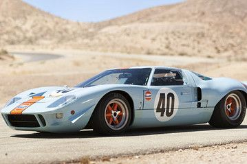 Ford Gt40 Race Car Fetches 11 Million At Auction Ford Gt40