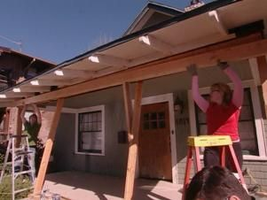 How To Repair A Sagging Support Beam Roof Repair Porch Repair Porch Supports