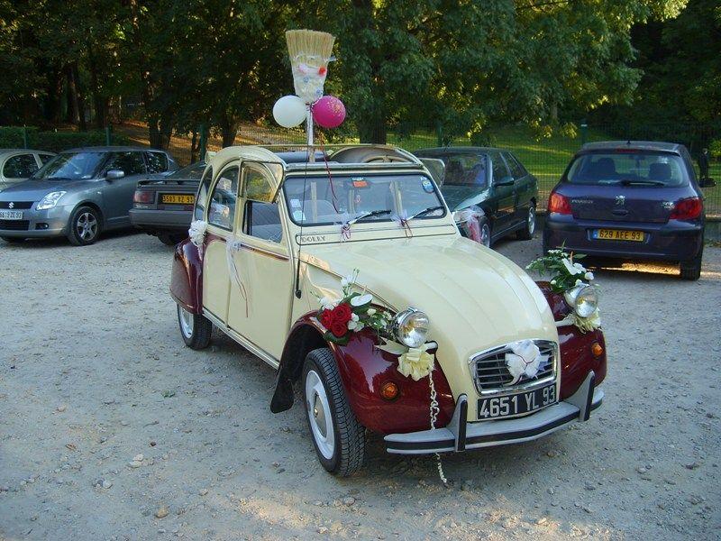 1000 images about voiture des maris on pinterest - Location 2cv Mariage
