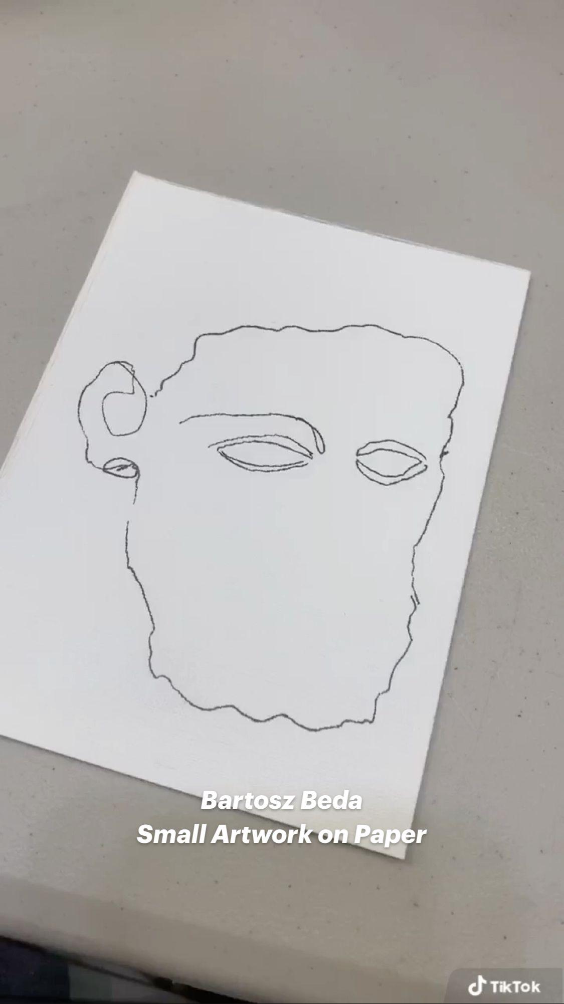Bartosz Beda Small Artwork on Paper