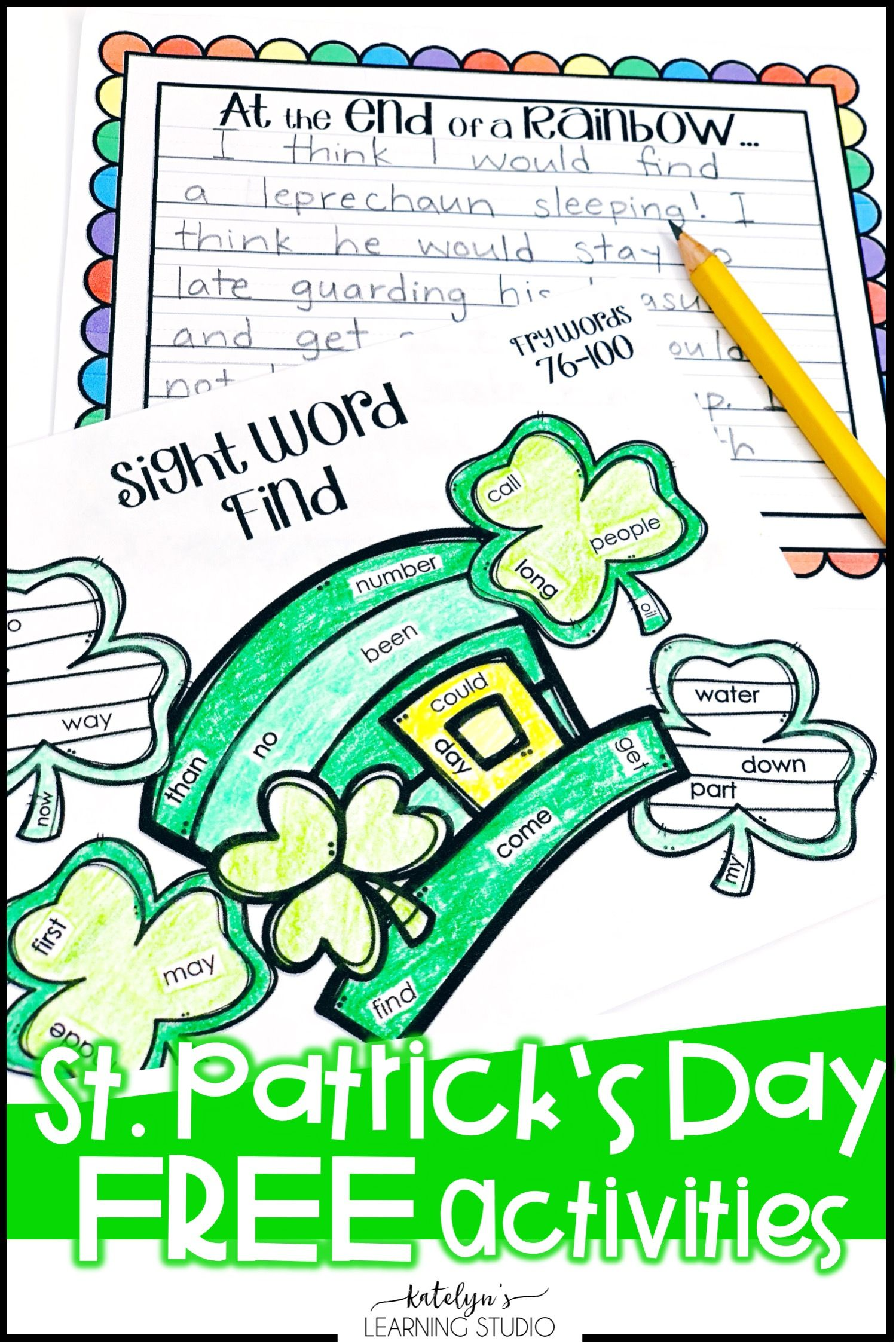 St Patricks Day Activities Free