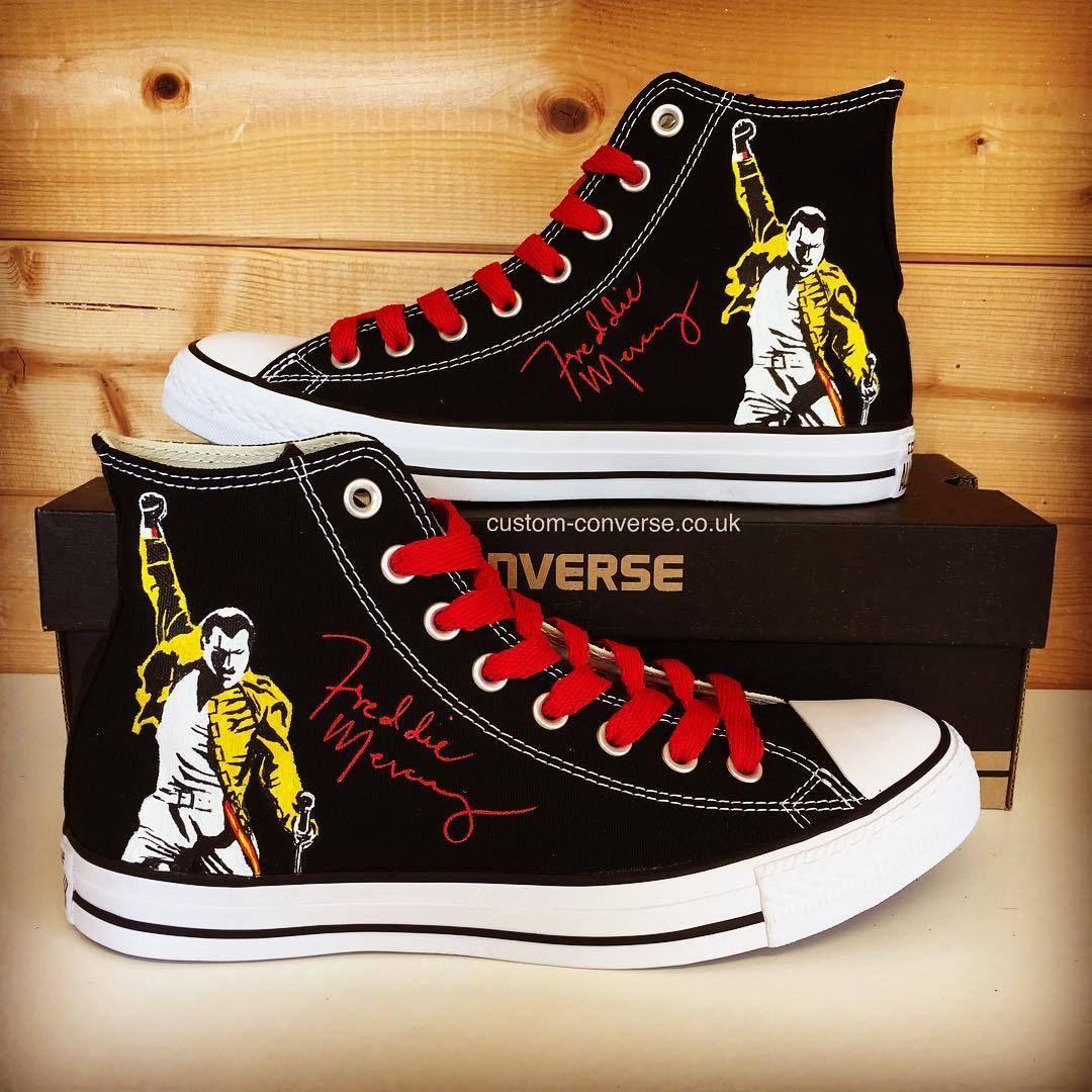 Freddie Mercury High Tops www.custom-converse.co.uk/product ...
