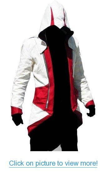 Assassins Creed Cosplay Hoodie Sweater Assassin/'s Pullover Coat Custume Top Suit