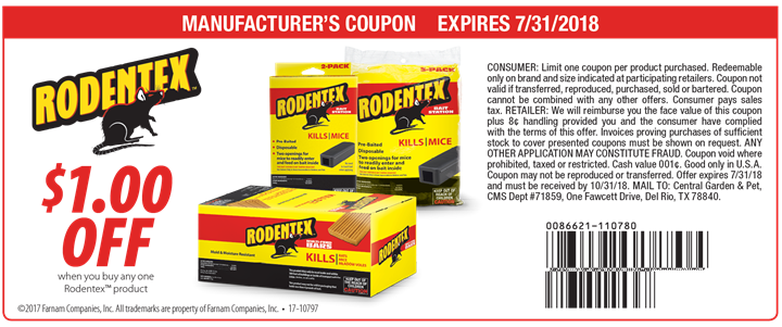 Rodentex coupon