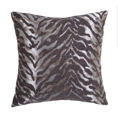 Michael Amini Cache Throw Pillow Color: Silver