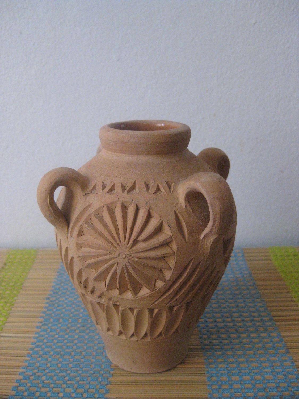 Vintage handmade pottery vase ceramic vase by antiquesnejadstyle vintage handmade pottery vase ceramic vase by antiquesnejadstyle 1100 reviewsmspy