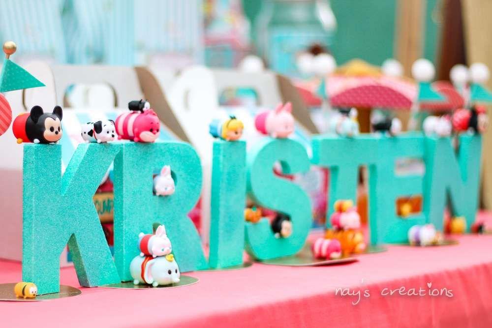 Tsum Tsum Ideas Para Fiestas: TSUM TSUM PARTY Birthday Party Ideas