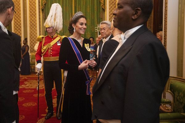 Kate Middleton Photos Photos Royals Attend A Reception For The Diplomatic Corps At Buckingham Palace