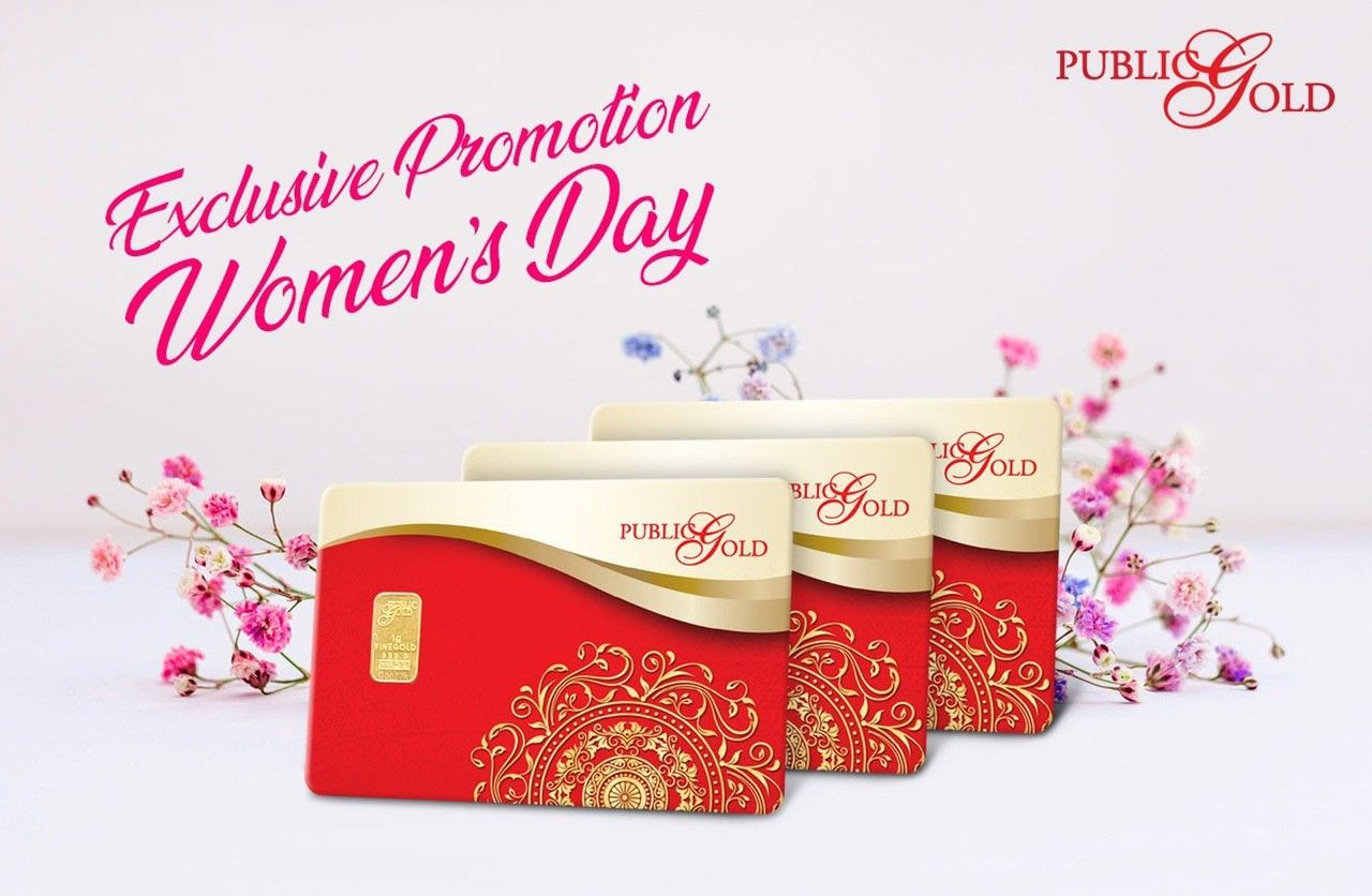 Women Day Promotion In 2020 Day Ladies Day Gold