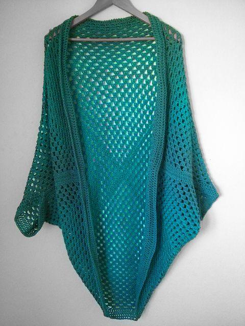 Granny Shrug Seelenwärmer Pattern By Katja Löffler Crochet