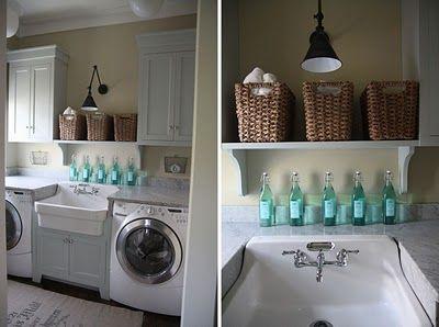 sink in laundry...nice dream