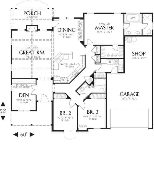 House Plans Home Plans And Floor Plans From Ultimate Plans Single Story House Floor Plans House Floor Plans Floor Plans