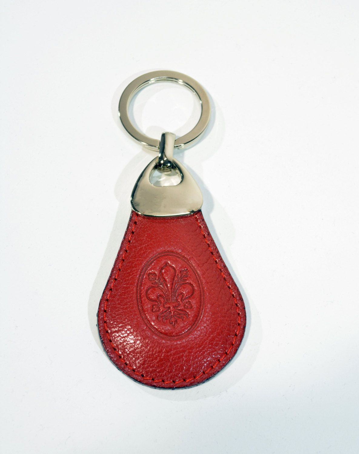 Free Shipping Leather Keychain Hand Carved Leather Key Ring Mens Keyfob Women s  Key Holder Gift For 1a9803134c