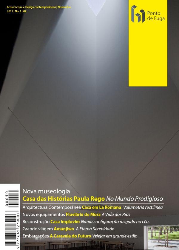 Ponto de Fuga Magazine Proposal by Bruno Graça, via Behance