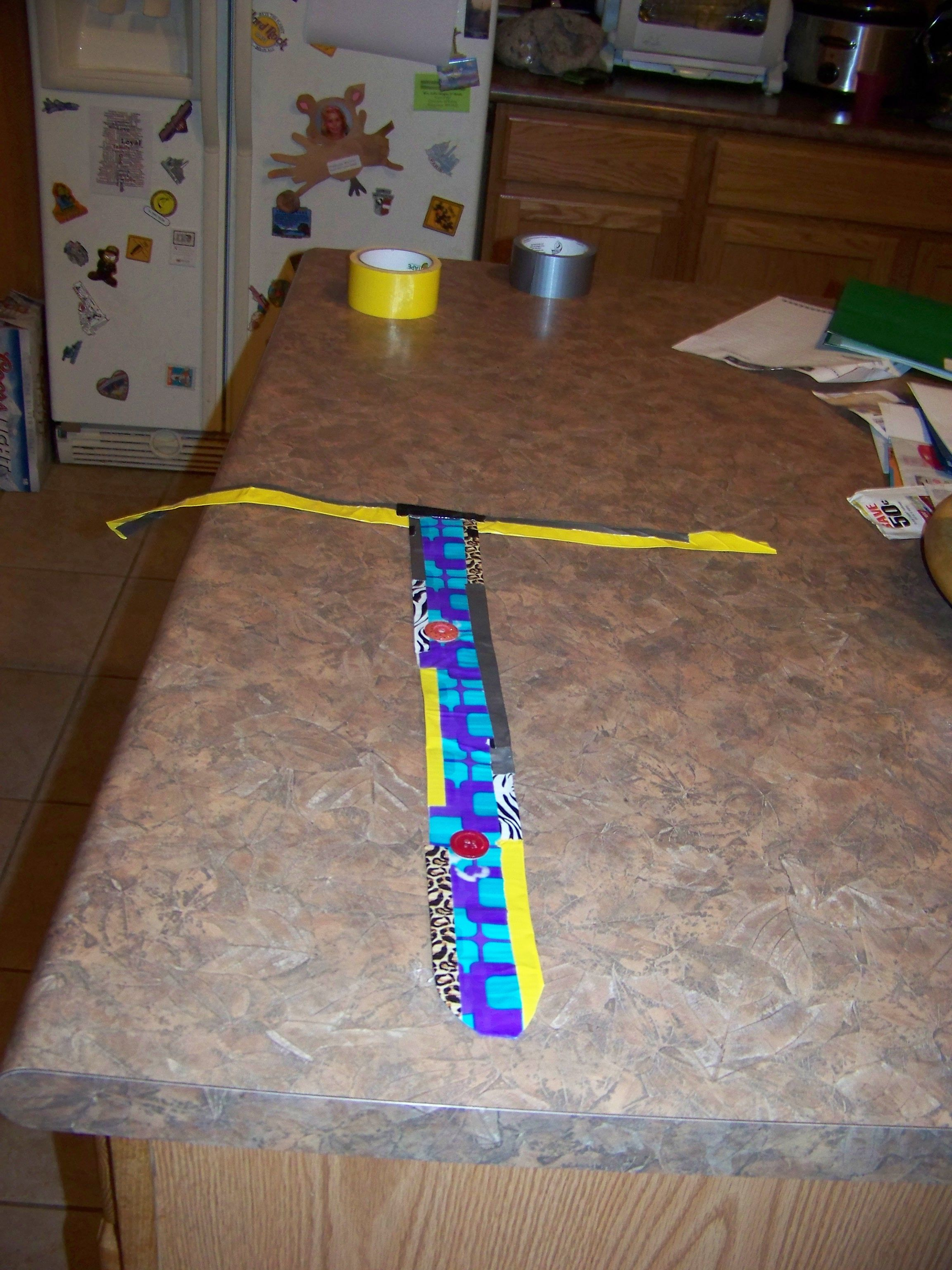 Crazy Tie Duct Tape Reversible For Awana Crazy Tie Night