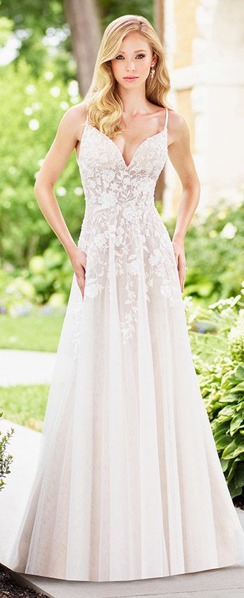 Wedding Dresses Spring 2018 | Enchanted, Wedding dress and Aisle style