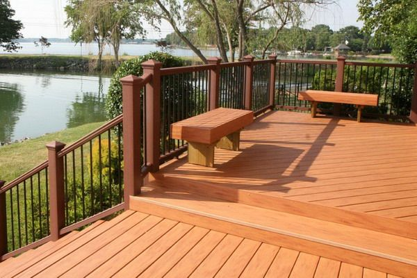 patio wood deck furniture decorations patio design ideas - Wood Deck Design Ideas