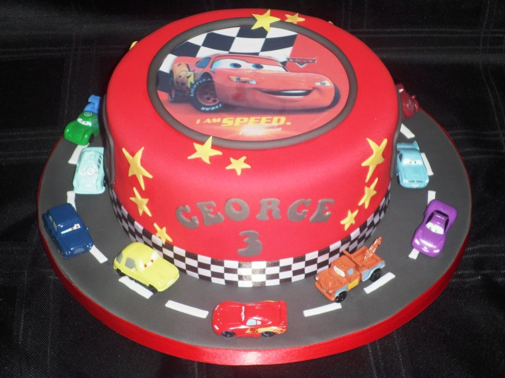 Disney Cars Cake Toppers Ideas Abrahams Parties Pinterest Car
