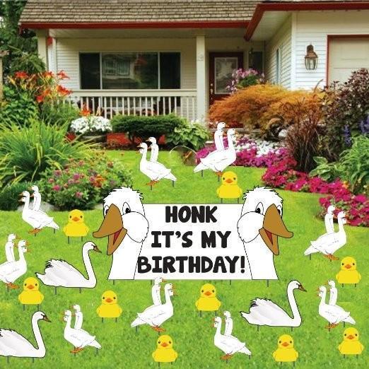 Birthday Yard Decoration