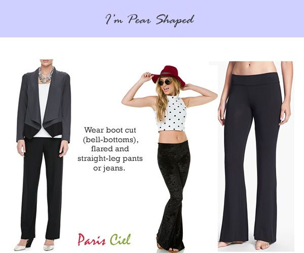 how to get a pear shaped body