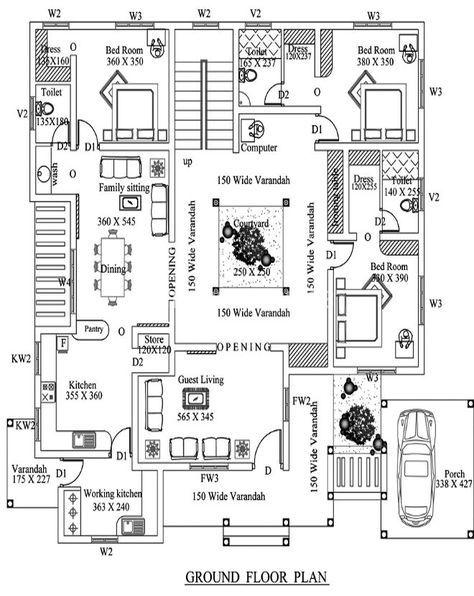 Image result for nalukettu house plan | house plans | Pinterest | House