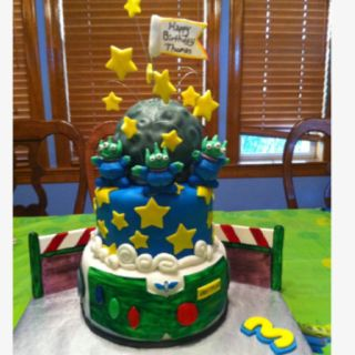 Toy Story made by Me = ) Cake4Tay!