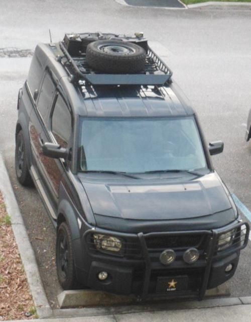 nice rack honda element owners club forum vehicle. Black Bedroom Furniture Sets. Home Design Ideas