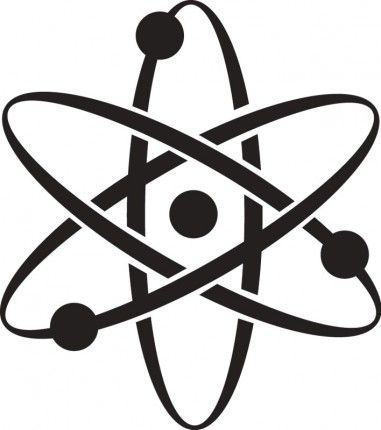 Printable Atomic Symbol Image Graphic Download Atoms Science ...