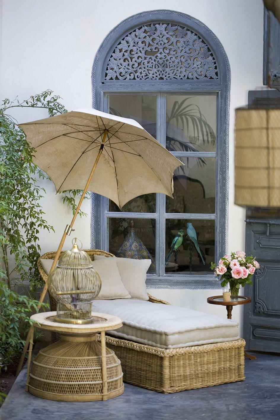 Salon De Jardin Asiatique riad de tarabel marrakech | pièces à vivre dans le jardin