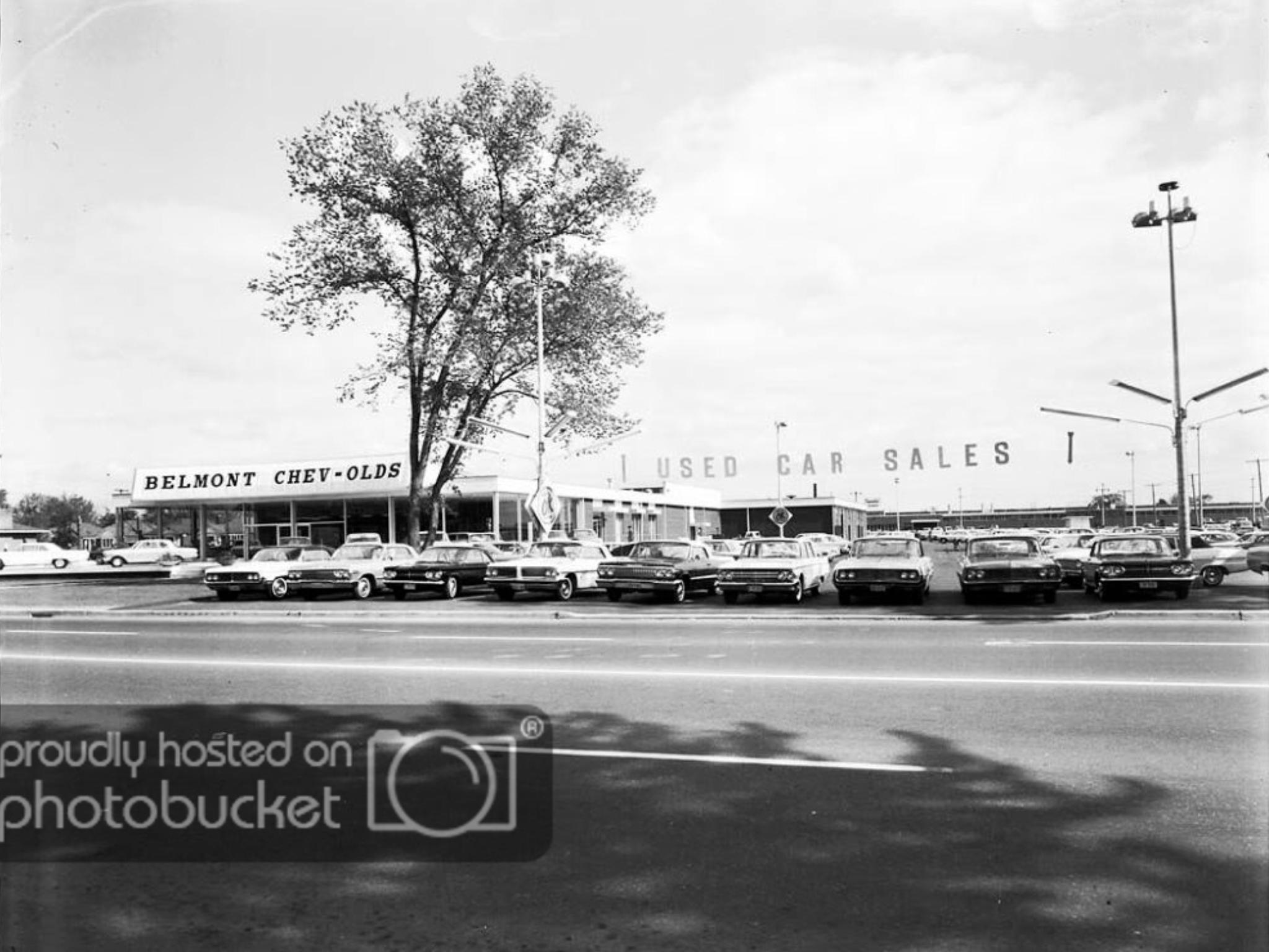 Belmont Chevrolet Oldsmobile Dealership Toronto Ontario Canada