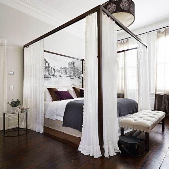 four poster bed frame king