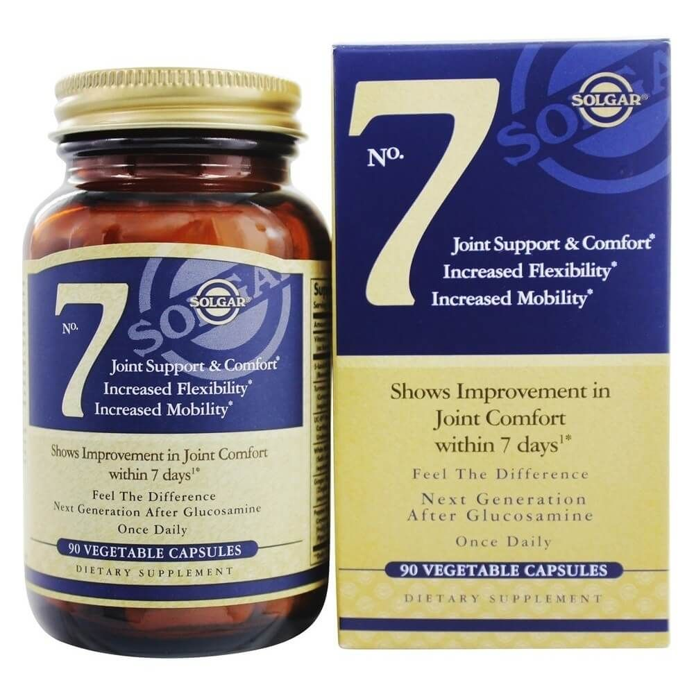 Solgar No 7 Joint Support 90 Vegetarian Capsules Vitmatop Puritan Pride Triple Strength Soother Glucosamine Chondroitin Msm Caplets