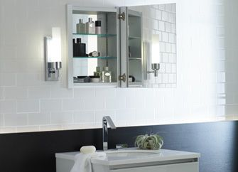 Robern R3 Series Bathroom Cabinets For Recessed Cabinet Installations; Line  Specifically For Remodeling