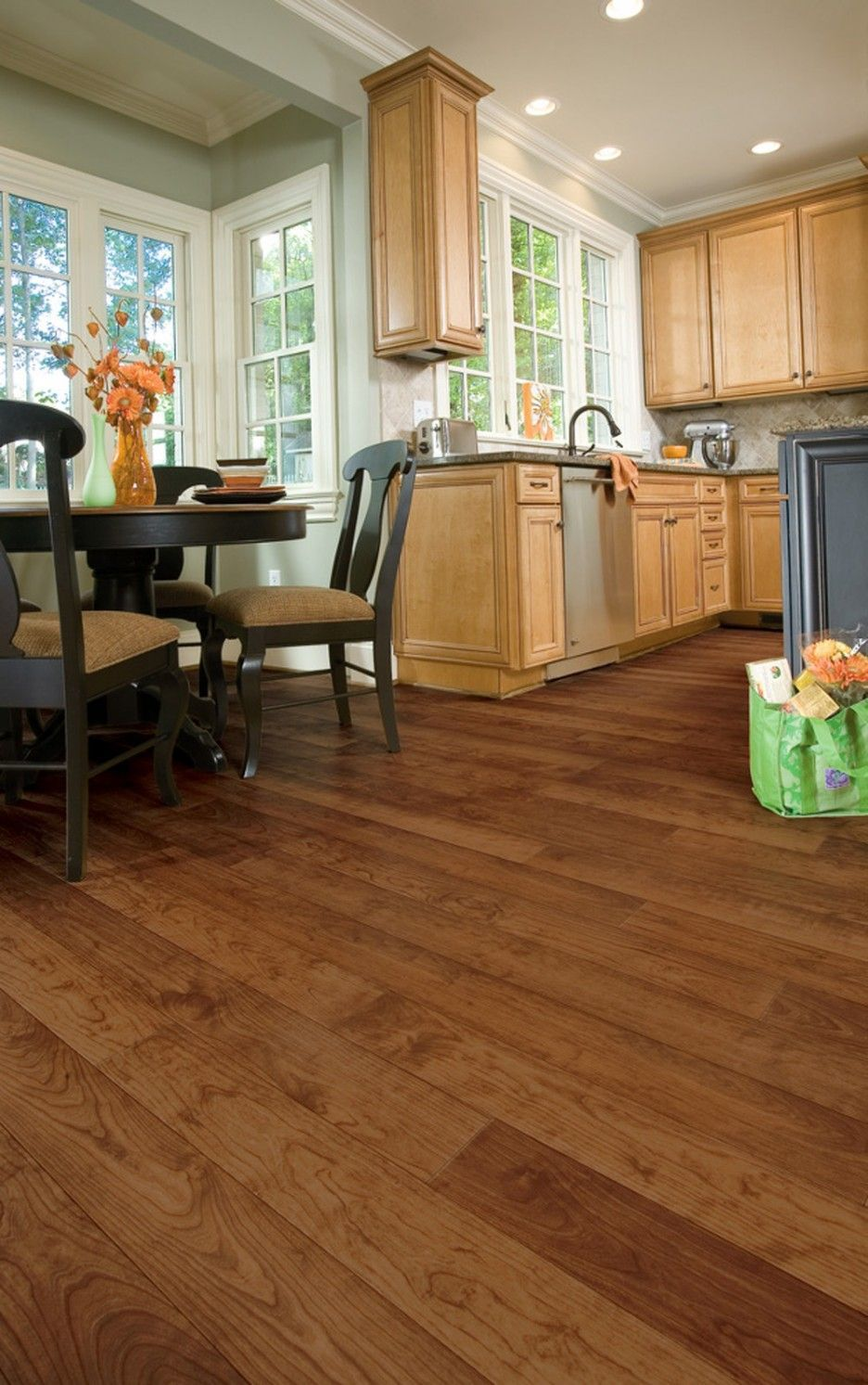 Image Result For Kitchen Flooring And Maple Cabinets