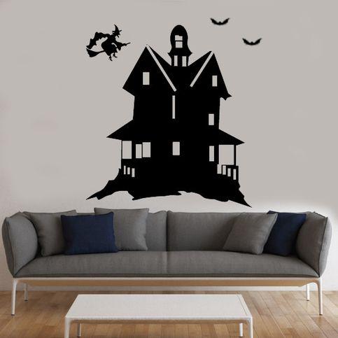 Halloween+wall+decal,+Halloween+Decoration,+Halloween+Indoor+ - halloween decoration outside