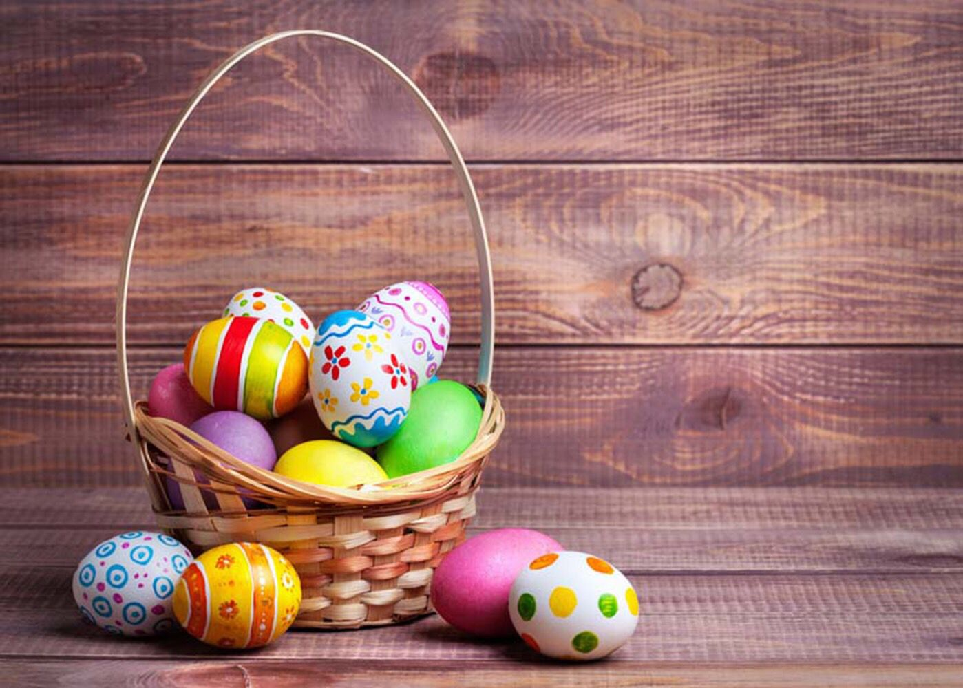 Easter Themed Photography Backdrops Eggs Vinyl Photography