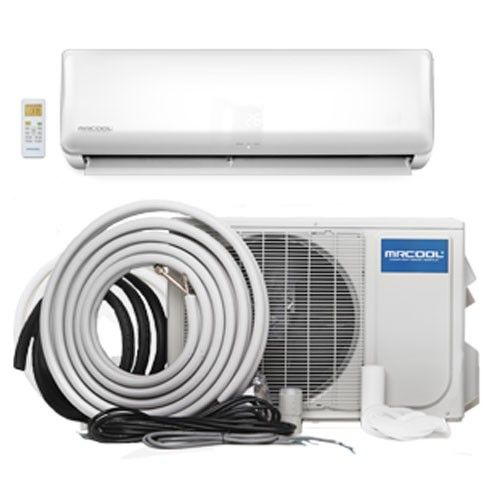 Mrcool Advantage 12 000 Btu 17 5 Seer Ductless Mini Split Heat Pump Ductless Mini Split Ductless Heat Pump