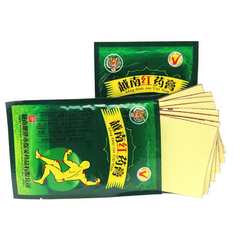 40Pcs /5 Bag Vietnam Red Tiger Balm Body Neck Back Plaster Pain Relief Massager Relaxation Herbal Arthritis Cervical I119
