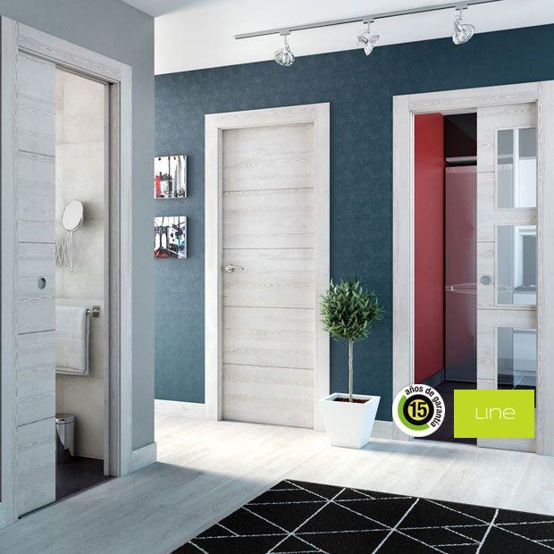 Puertas de interior de madera leroy merlin decorando pinterest interiores de madera - Puertas de bano leroy merlin ...