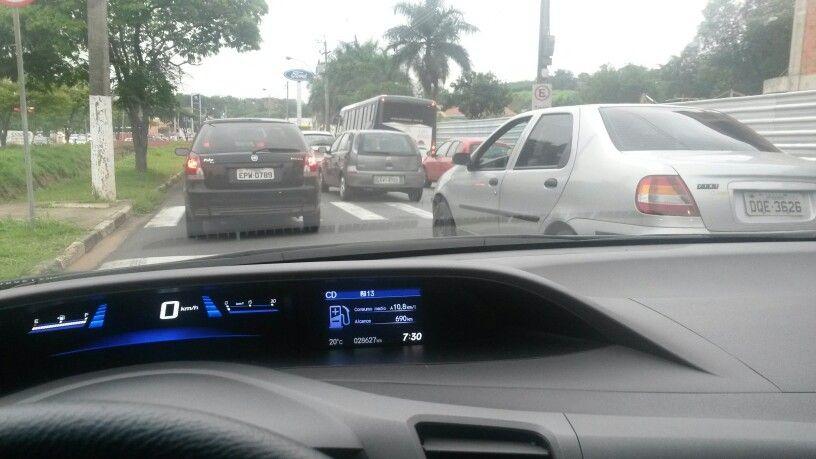 Trânsito no interior