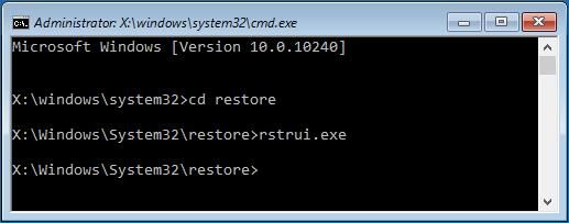 How to Restore Computer to Earlier Date in Win10/8/7 (2