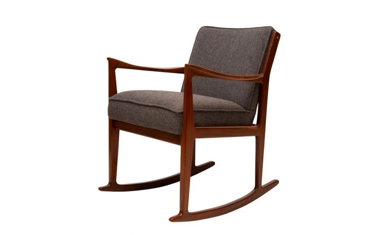 Danish rosewood rocking chair c1960 with images